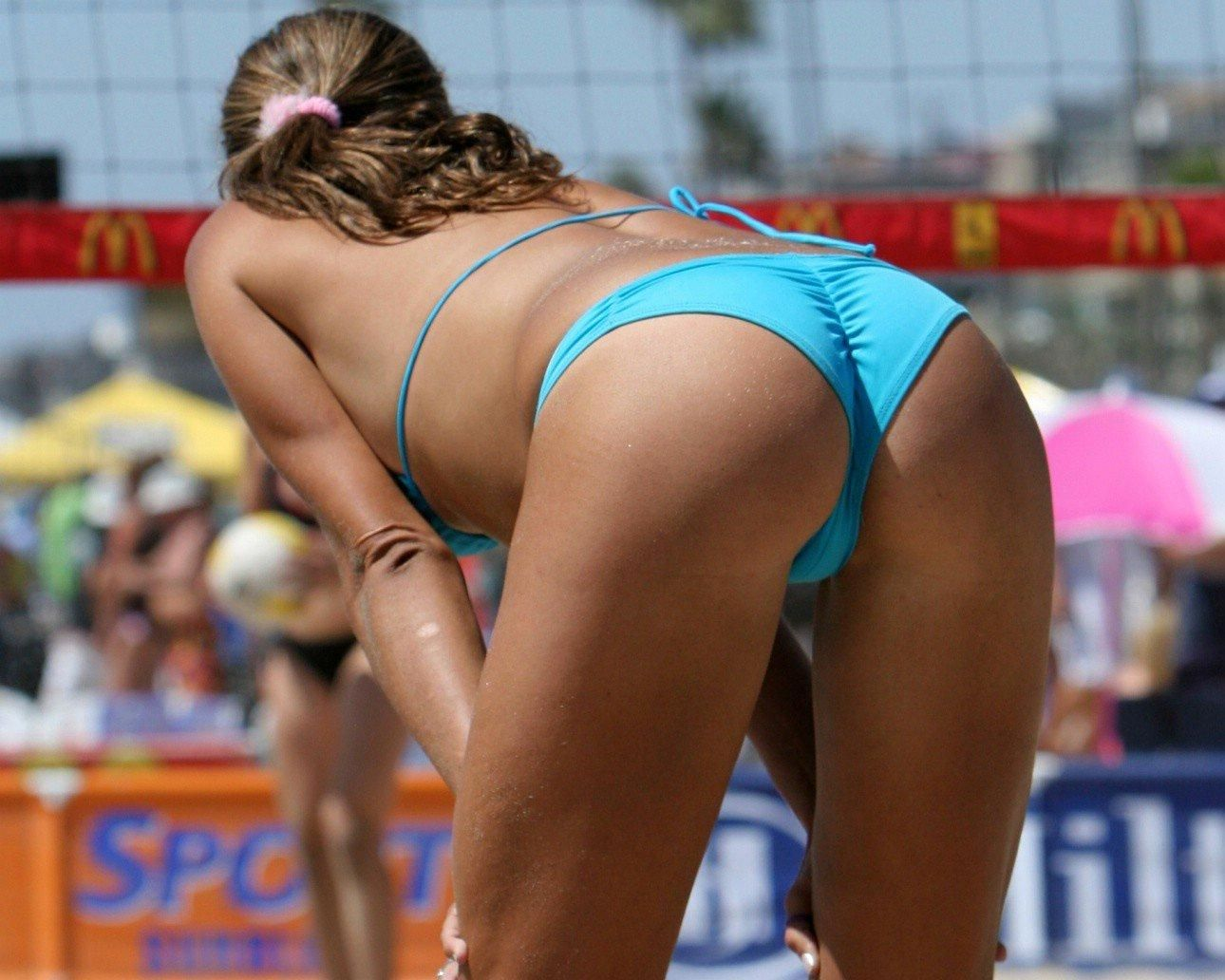 Hot girl volleyball topless charlies