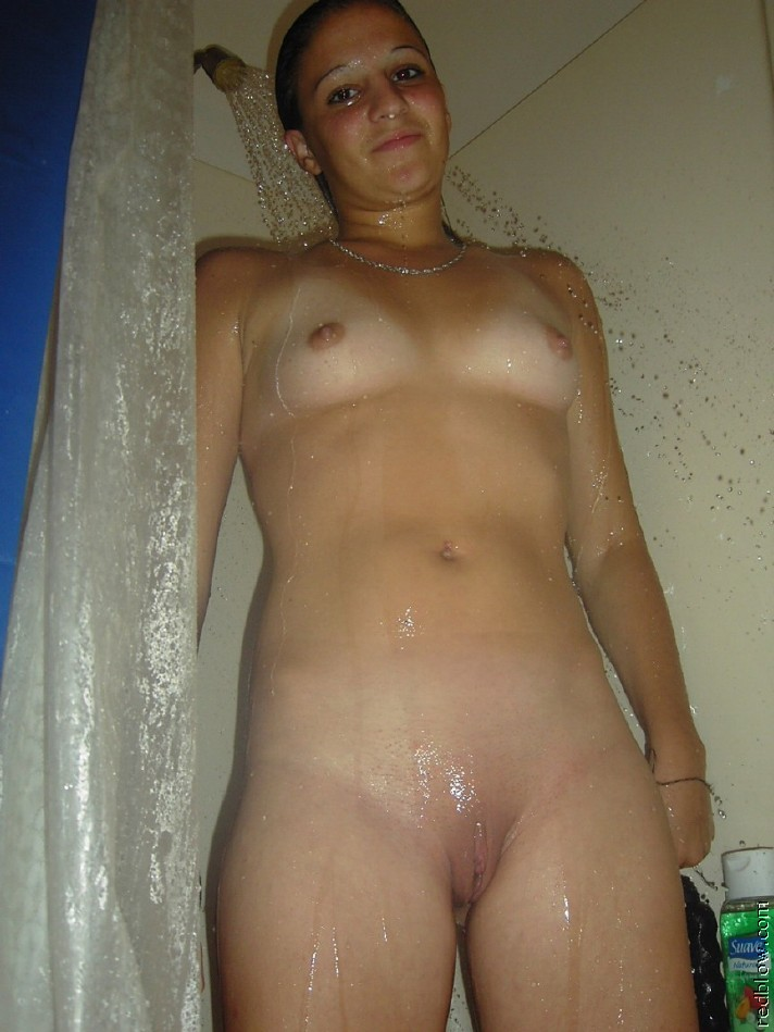 Naked ugly girls in the shower