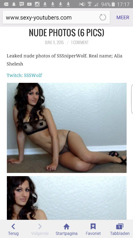 Sssniperwolf leaked pic