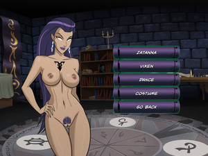 Justice league hentai game