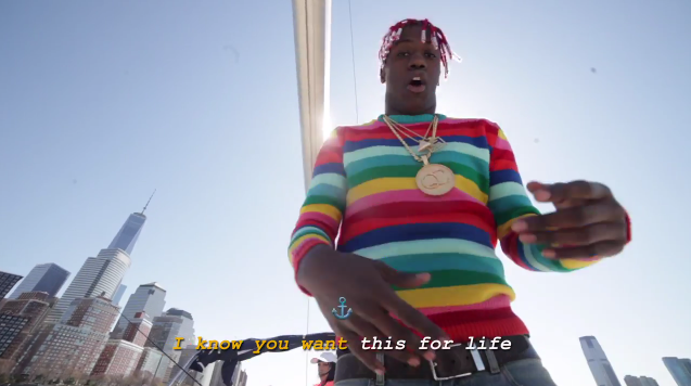 Lil yachty new music video