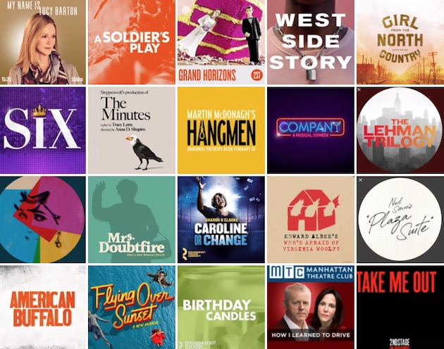 Musicals in new york april 2020