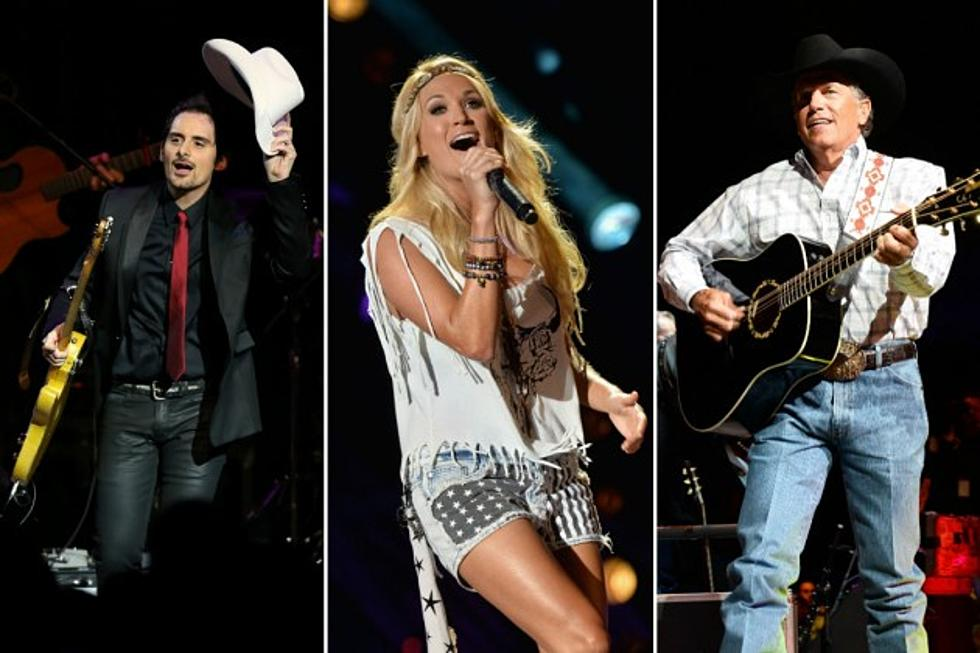 New country music 2014 list